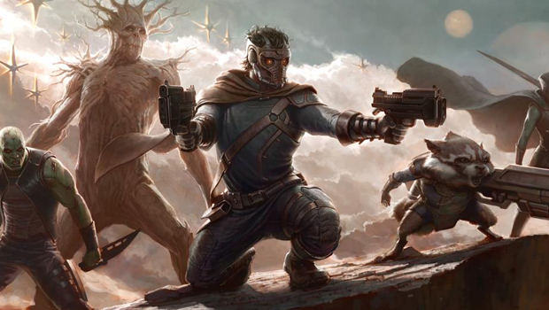 guardains galaxy concept art Movies To See In 2014
