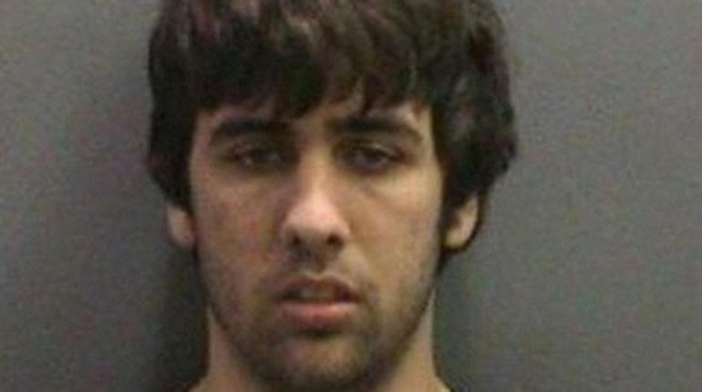 Ashton Sachs arrest photo