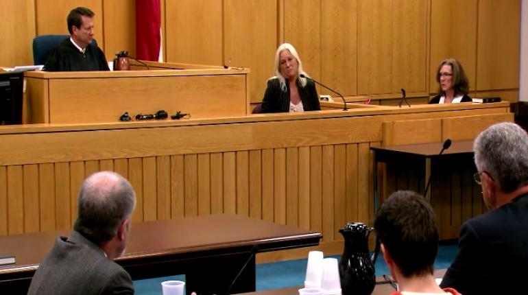 Johnna Henson addressers her daughter's killer in court