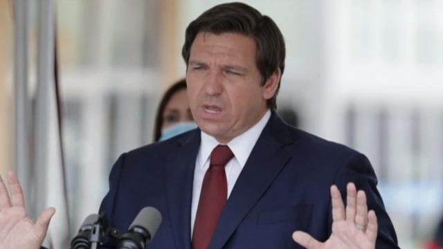 Florida governor faces criticism over COVID vaccine distribution