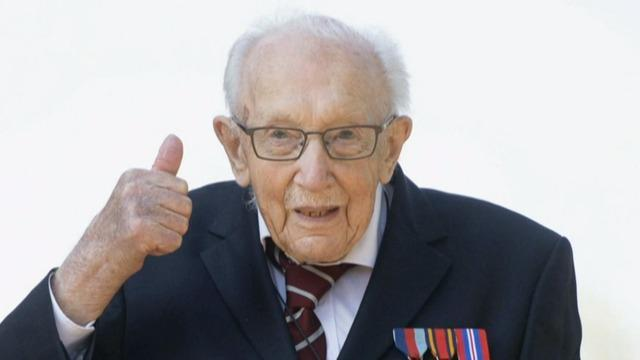 Britain says goodbye to Captain Tom Moore, WWII vet and pandemic hero