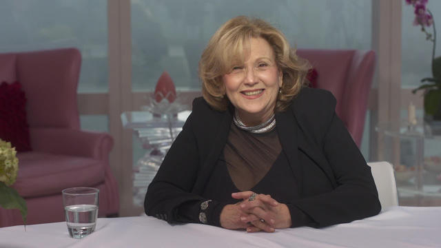 Brenda Vaccaro is having a good time
