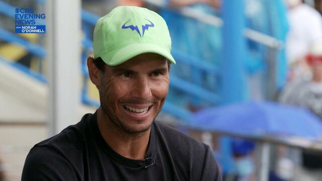 Rafael Nadal on mental health and returning from injury