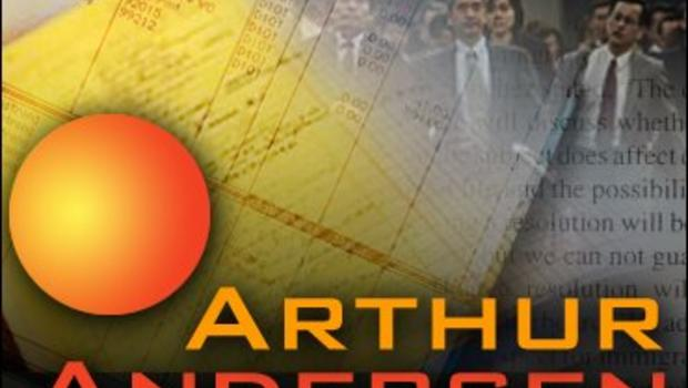 arthur andersen Enron fires arthur andersen for failing to warn enron about itself  whatever  andersen did wrong--and it seems it did plenty wrong--it did it to benefit enron   andersen knew or should have known what enron was doing.
