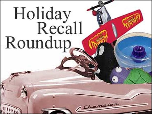 Holiday Recall Roundup