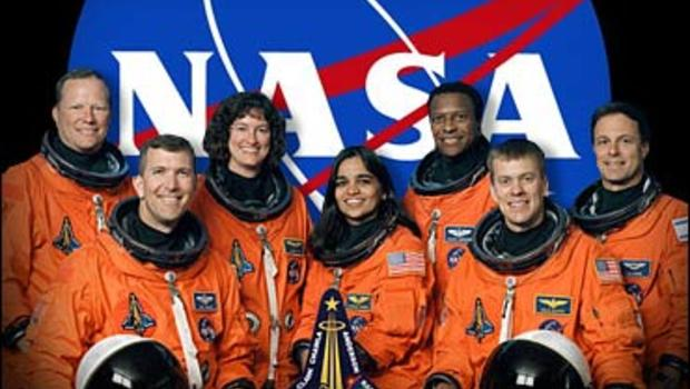 space shuttle columbia disaster crew -#main