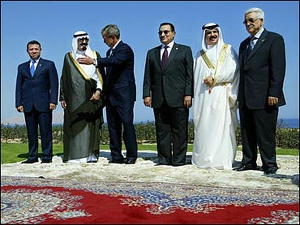 Mideast Peace: First Steps