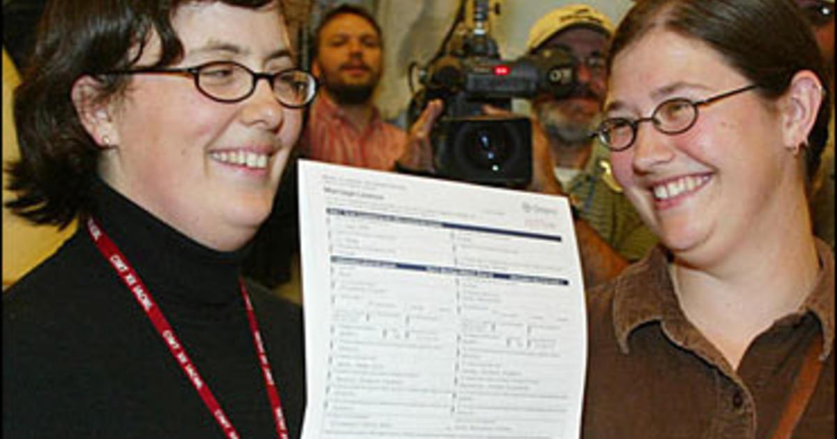 same sex marriage license ontario in Hayward