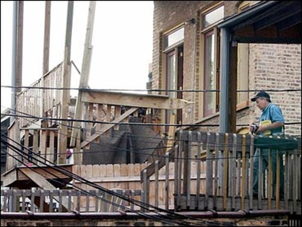 Chicago Porch Collapse Photo 2 Pictures Cbs News