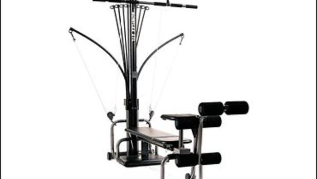 This is a bowflex sport home gym with every available accessory this thing is in % new condition, the rubber coating on the cables has no wear no cracks or tears, comes with 2 full Sets of rods as.