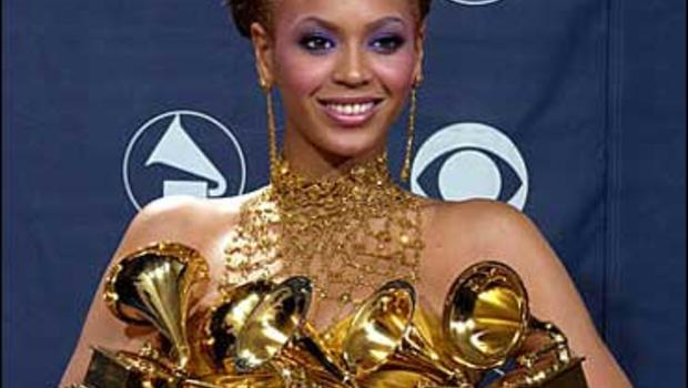 Beyonce Grammys: Beyoncé Golden At Grammys