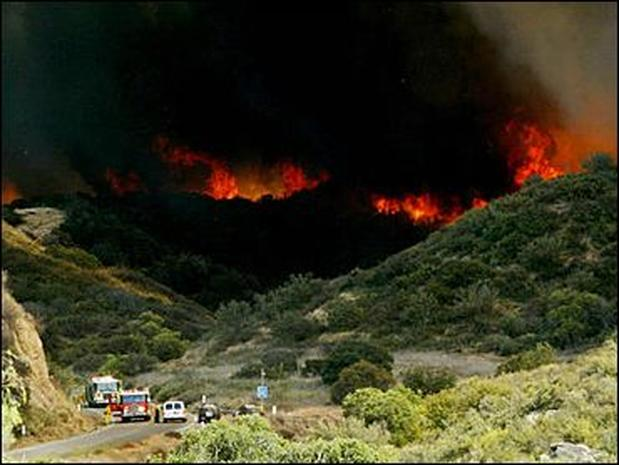 Southern Ca Fire >> Southern California Wildfires - Photo 20 - Pictures - CBS News