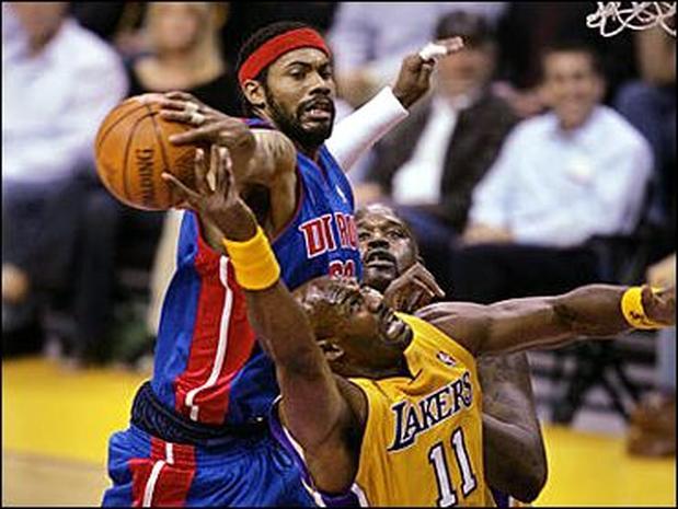 Pistons Vs Lakers: 2004 NBA Finals: Game 2