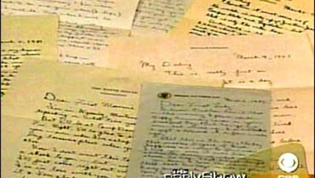 ronald reagans love letters cbs news