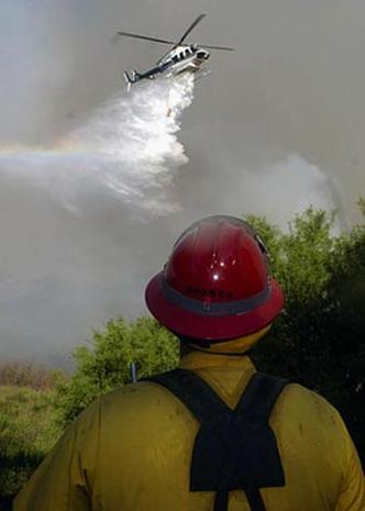 Wildfires: June 2005