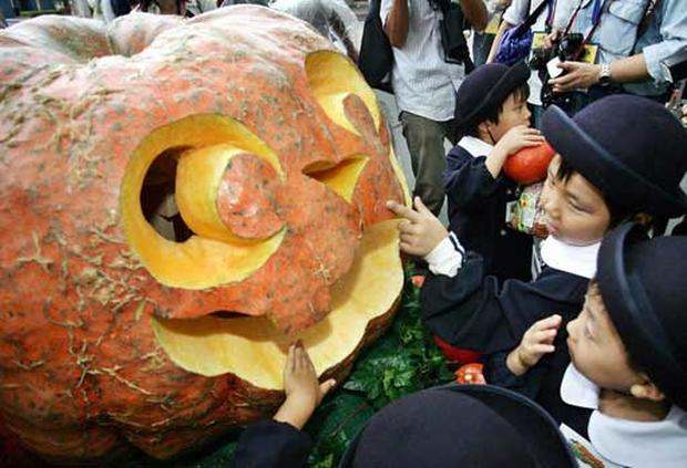 Pumpkins On Parade 2005