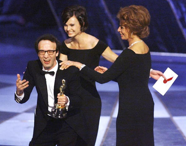 Ten bizarre Oscar moments