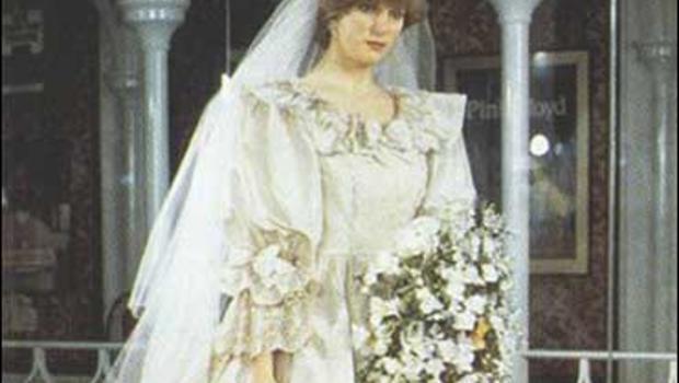 princess dis dress auctioned cbs news