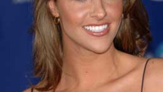 Actress jill wagner arrives at the 32nd annual people s choice awards