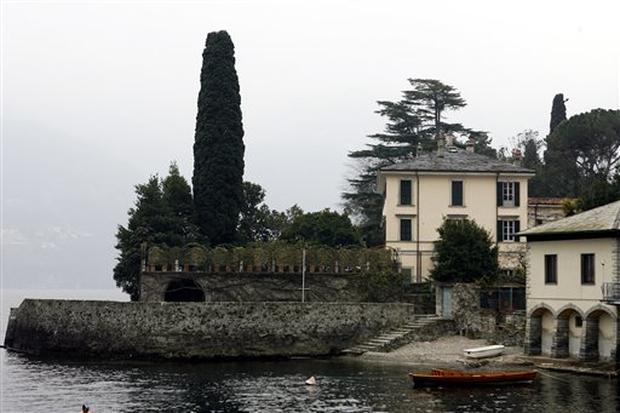 Clooney's Italian Villa