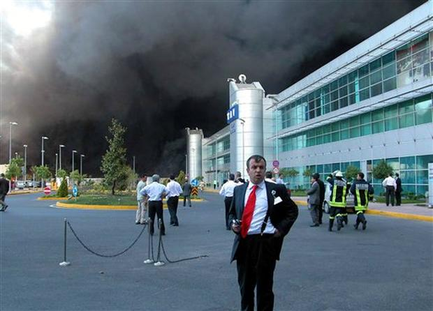 Istanbul Airport Fire