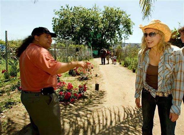Stars Unite To Save Urban Farm