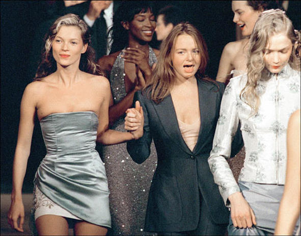 Kate Moss: Up And Down Model