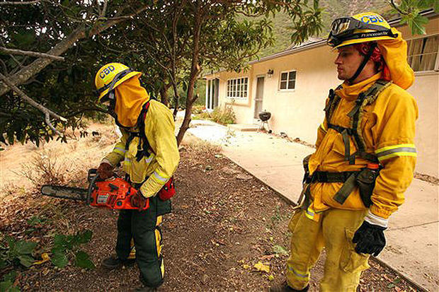 Day Fire Chars SoCal