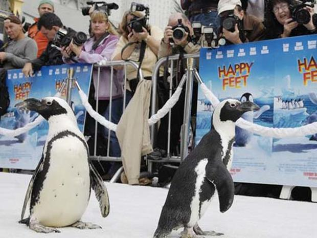 White Carpet For 'Happy Feet' - Photo 1 - Pictures - CBS News