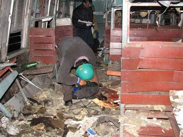 Train Explosion In India