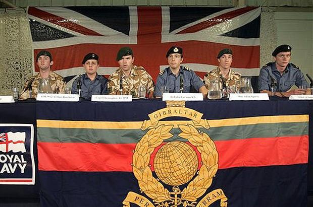British Captives Crisis