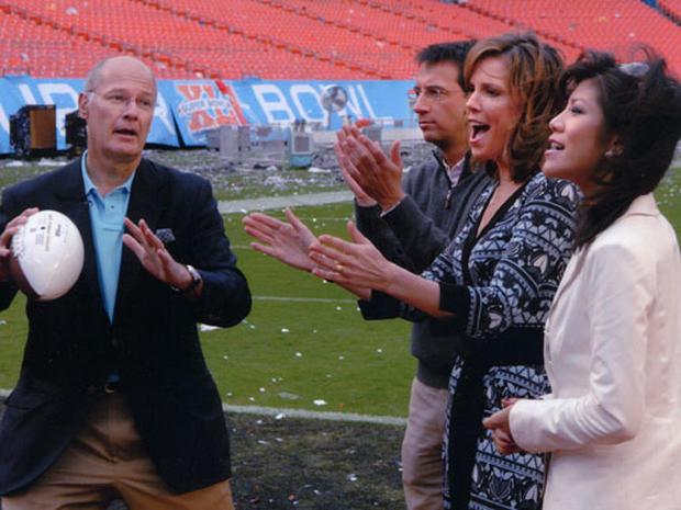 At The Super Bowl