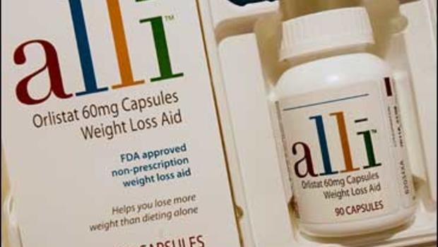 What is in alli weight loss pill