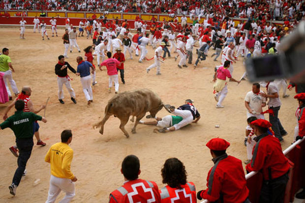 Running Of The Bulls Once Again