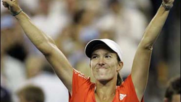 Henin Wins A Lucky 7th Grand Slam Title