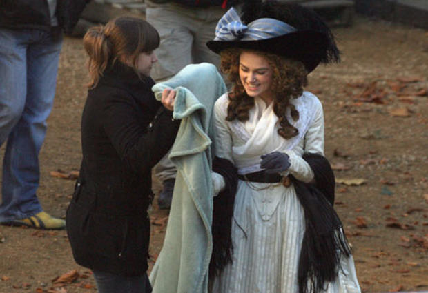 On Location: Keira Knightley - Photo 1 - Pictures - CBS News