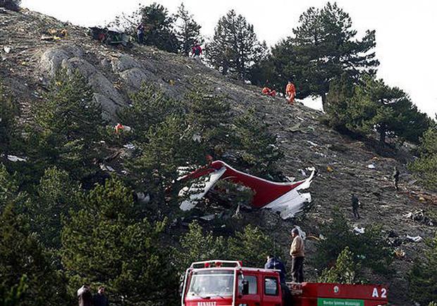 Plane Crashes In Turkey