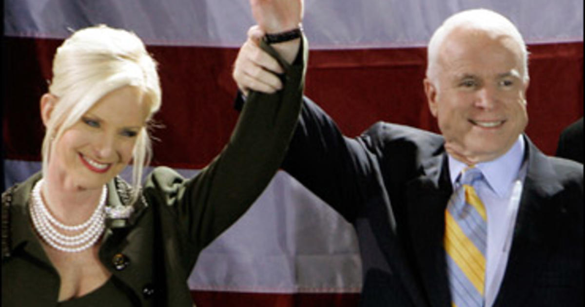 what happened to john mccain first wife