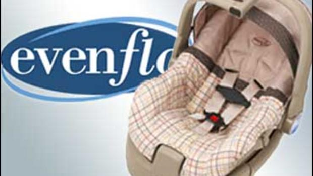 Evenflo Recalls 1 Million Car Seats Cbs News