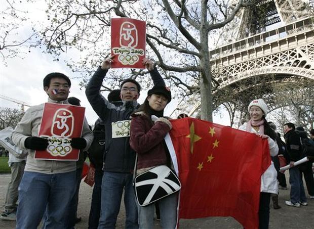 Paris Protests Douse Torch
