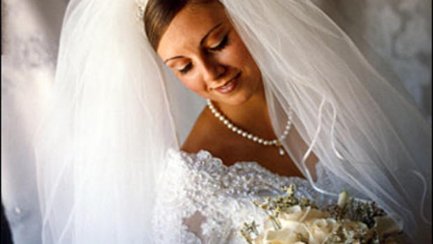 свадебные прически с пышной фатой 2014 фото