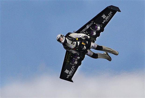 Rocket Man Takes Flight