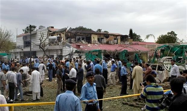 Danish Embassy Blast
