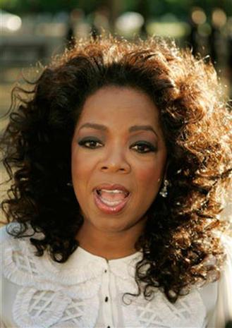 Oprah, Uma In The UK