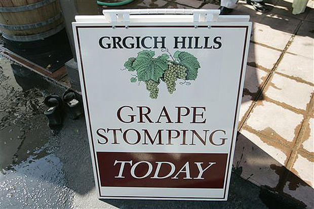 Stomping The Grape