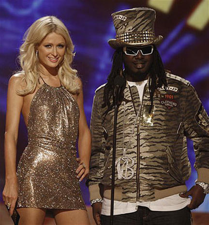 On Stage At The AMAs