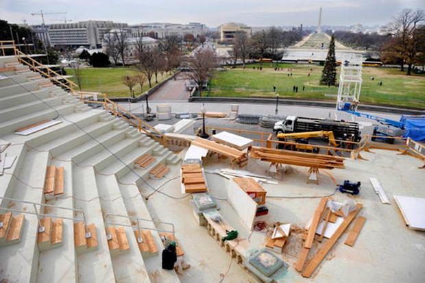 More Inauguration Preps