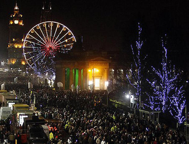 Hogmanay events scotland