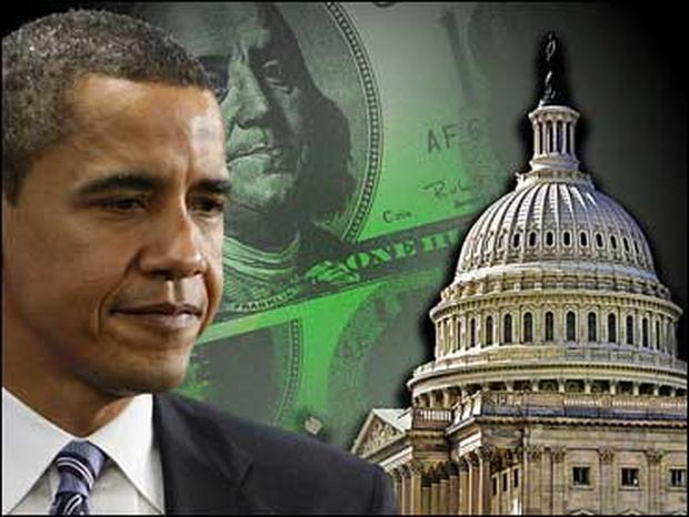 Barack Obama and the economic stimulus package