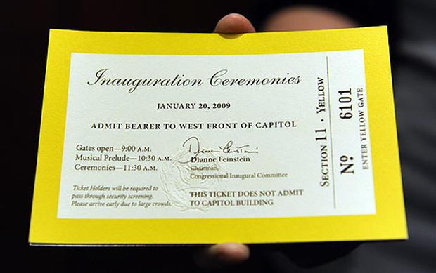 Inauguration Preps